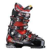 Black / Red Translucent Salomon Mission RS 7 Ski Boots Mens