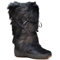 Black Regina Anna Boots Womens Side