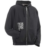 Ride Stripe Full Zip Hoodie - Men's - Black