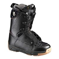 Black Salomon F22 Snowboard Boots Mens