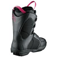 Black Salomon Ivy Snowboard Boot Womens