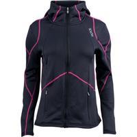 Black / Sassy Pink Spyder Popstretch Fleece Jacket Womens