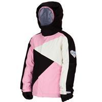 Black / Satin / Silk Bonfire Prima Jacket Girls