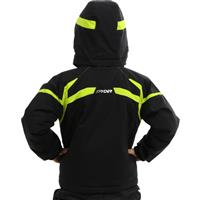 Black/Sharp Lime/Sharp Lime Spyder Mini Leader Jacket Boys