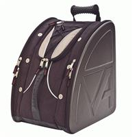 Black / Silver Athalon Platinum Molded Boot Bag