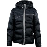 Black / Silver Spyder Chrono Down Jacket Girls