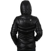 Spyder Timeless Hoody Down Jacket - Women's - Black / Silver