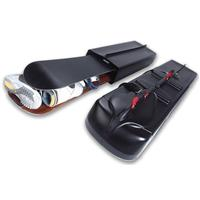 Black SporTube SERIES THREE Plastic Snowboard Case