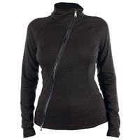 Black Spyder Lapis Wool T Neck Womens