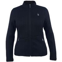 Black Spyder Major Cable Core Sweater Womens