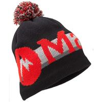 Black/Team Red Marmot Retro Pom Hat Boys