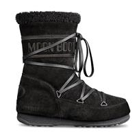 Black Tecnica Moon Boot Butter Mid Womens