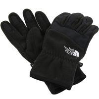 Black The North Face Denali Gloves Womens