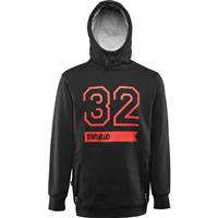 Black ThirtyTwo 32 Stamp Pullover Fleece Mens