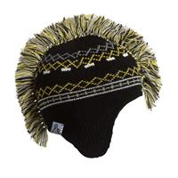 Turtle Fur Hawk Beanie - Boy's - Black