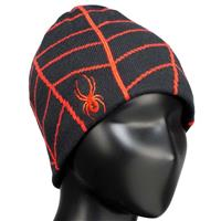 Black/Volcano Spyder Web Hat Boys