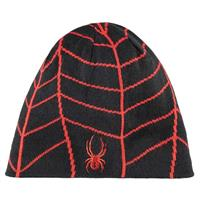 Black / Volcano Spyder Web Hat Mens