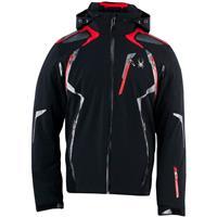 Black / Volcano / Volcano Spyder Pinnacle Jacket Mens