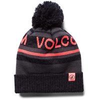 Black Volcom Montane Beanie Womens