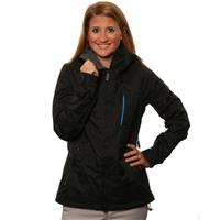 Black Volcom Stone Jacket Womens