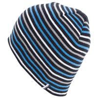 Black Volcom Woolcott Stripe Beanie Mens