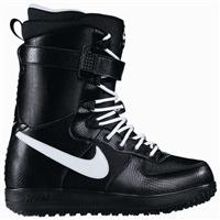 Black / White Black Nike Zoom Force 1 Snowboard Boot Mens