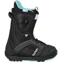 Black / White Burton Mint Snowboard Boots Womens