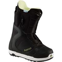 Black / White Burton Mint Snowboard Boots Womens