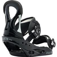Black/White Burton Stiletto Snowboard Bindings Womens