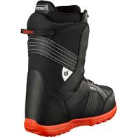 Black / White Burton Zipline Snowboard Boots Youth