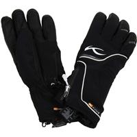 Black / White Kjus Rebel Glove Womens