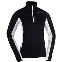 Kjus Royale Half Zip - Women's - Black / White
