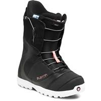 Black/White/Pink Burton Mint Snowboard Boots Womens