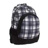 Black / White / Plaid Vans Van Doren Backpack