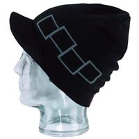 Blackout Foursquare Icon Visor Beanie Mens