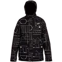 Block By Block Black Orage Estman Jacket Mens