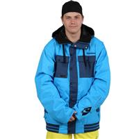 Blue Aop Oneill Freedom Seb Toots Jacket Mens