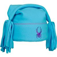 Blue Bay / Purple Spyder Bitsy Cuddle Fleece Hat Girls
