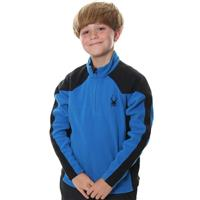 Blue / Black Spyder Speed Fleece T Neck Boys