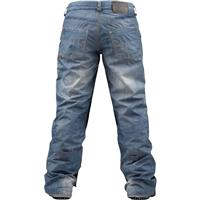 Blue Denim Print Burton The Jeans Pants Womens