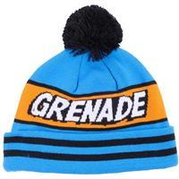 Blue Grenade Comic Beanie