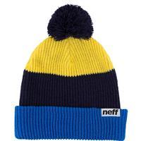 Blue / Navy / Yellow Neff Snappy Beanie