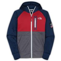 Blue/Red/Grey The North Face International Full Zip Hoodie Boys