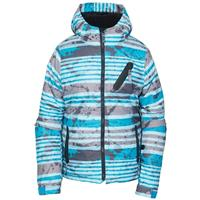 Blue Stripe 686 Trail Insulated Jacket Boys