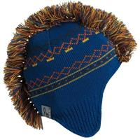 Turtle Fur Hawk Beanie - Boy's - Blue