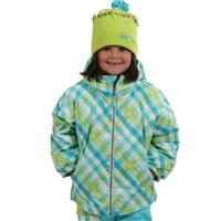 Bluebell Tartan Obermeyer Serenity Jacket Preschool Girls