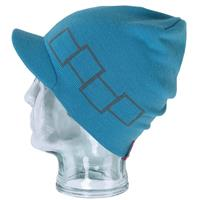 Bluebird Foursquare Icon Visor Beanie Mens
