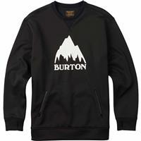 True Black (17) Burton Bonded Crew Mens