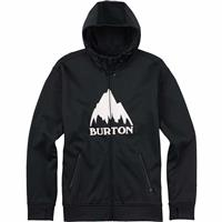 True Black (17) Burton Bonded Full Zip Hoodie Mens