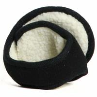Black Northern Ridge Sherpa Ear Warmers